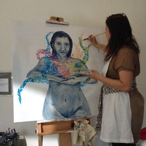 Artist at Community Change Institute