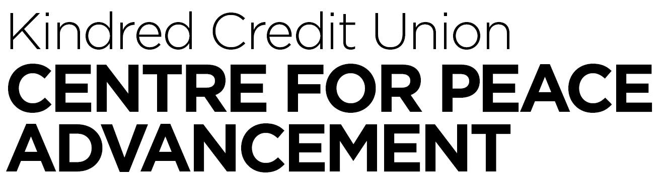 Kindred Credit Union Centre for Peace Advancement logo.jpeg