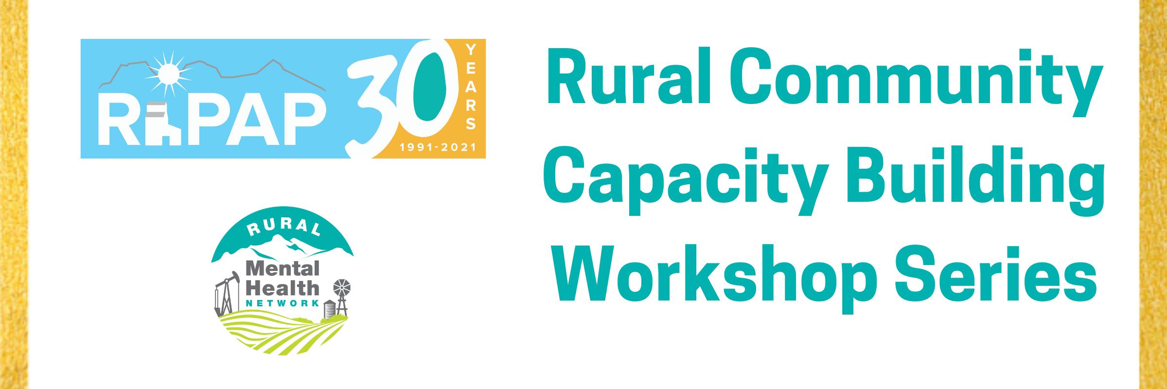 Rural Community Capacity Building Series Banner v2
